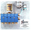 Quick Pack Complete Lubrication System, 2 Air Operated PurgeX Pumps for Grease, Integral Grease Reservoir, 120V/60Hz -- B3546-102