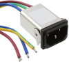 Power Entry Connectors - Inlets, Outlets, Modules -- 817-1810-ND -Image