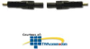 Hubbell HDMI Female 6-Wire to Female 6-Wire, 24AWG Patch.. -- HDPC03BK