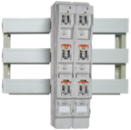 MULTIFIX® 185mm is a system for complete touch protection on to bus bar systems with 185mm bus bar distances.