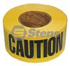 Barricade Caution Tape / 2 MIL. BLACK/YE -- 751-527 - Image