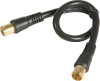 1' RG6 Push On Coaxial Cable -- 8222309 -- View Larger Image