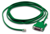 C-MORE PANEL TO DIRECTLOGIC RJ11 PORT, 3M, RS232C, SHIELDED CABLE -- EA-3CBL - Image