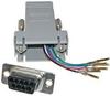 Modular Plug(8 Cond)-9 Pin(f) RJ45 to D-Sub Adapter -- CD-A9538F