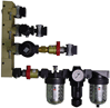 Supply Header Combination Valves