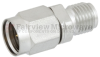 2.92mm Female (Jack) to 2.4mm Male (Plug) Adapter, Passivated Stainless Steel Body, 1.35 VSWR -- FMAD1027 - Image