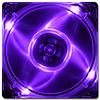 Quad Purple LED 80mm Fan -- 1003 -- View Larger Image