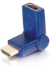 Velocity? 90° Rotating HDMI® Female to HDMI® Male Port Saver Adapter -- 2101-40420-ADT