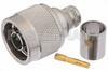 RP N Male Connector Crimp/Solder Attachment for PE-C400, PE-B400, PE-B405, LMR-400, LMR-400-DB, LMR-400-UF, 0.400 inch -- PE44470 -Image