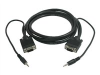 Cables to Go display / audio cable - 3 ft -- 52109