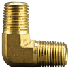 Fisnar 560724 Brass Elbow Fitting 0.25 in NPT Male x 0.25 in NPT Male -- 560724 -Image
