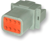 Amphenol AT04-08PA 8-Way AT Receptacle Connector, DT04-08PA Compatible -- 38179 -Image