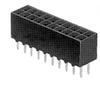 Rectangular Connectors - Headers, Receptacles, Female Sockets -- 1-535542-0-ND