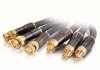 75ft SonicWave® RCA to BNC Component Video Cable -- 2201-40146-075