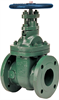 Gate Valve - Class 150, Ductile Iron, Bronze Trim, Flanged -- F-639-31 - Image