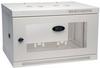 SmartRack 6U Low-Profile Switch-Depth Wall-Mount Rack Enclosure Cabinet, White -- SRW6UW -- View Larger Image