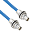 Plenum Cable Assembly TRB Insulated Bulk Head Jack 3-Lug Cable Jack to Jack MIL-STD-1553 .242