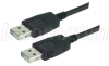LSZH USB Cable Assembly, Latching A / Latching A 4m -- CAUZALAL-4M