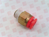 SMC KQ2H07-35S ( FITTING, MALE CONNECTOR, 1/4IN NPT, ) -Image