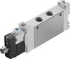 Air solenoid valve -- VUVG-LK14-M52-AT-G18-1R8L-S -- View Larger Image