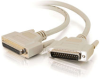 10ft IEEE-1284 DB25 M/F Parallel Printer Extension Cable -- 2308-06100-010 - Image