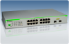 GS950 Gigabit WebSmart Switches -- AT-GS950/16