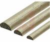 RFI Shielding Gasket, D-Shape, Cuni Cond. Surf, 0.005 - 0.010 Ohm/Lin. In. -- 70029206