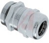CONNECTOR, STRAIN RELIEF, LIQUID TIGHT,METALLIC, M-25X1.5 THREAD -- 70123271 - Image