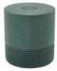 Round Head Plug,1 In -- 14J756