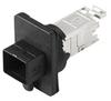 Passive Industrial Ethernet IP67 Plug-In Connector V4 PushPull Sets - RJ45 -- IE-BS-V04P-RJ45-FJ-A - Image