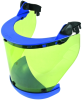 DEHNcare® Esh and Aps: Arc-Fault-Tested Face Shield with Clip and Chin Protector -- 785 746
