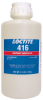 Henkel Loctite 416 Instant Adhesive Clear 1 lb Bottle -- 209589 - Image