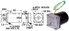 A.C. Gearmotors (metric) -- A 3G25MIS0180 -Image