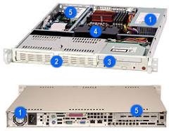 SC811T-300 / SC811T-300B Datasheet -- Supermicro Computer