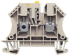 DIN RAIL TERMINAL, 2POS, 22-10AWG -- 56T4766 - Image