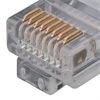 Category 6 Slim Ethernet Patch Cable, Unshielded, Blue, 1.0Ft -- TRD628BL-1 -Image