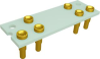 Relay Sockets, Solder Dip/6 Pin -- SMT1A-6P-AL53 - Image