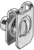 U-Nut,Spring Steel,M6,Pk25 -- 4CUH4