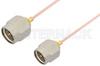 SMA Male to SMA Male Cable 18 Inch Length Using PE-034SR Coax -- PE34193-18 -Image