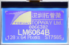 128x64 Graphic Display Module -- LM6063XFW - Image