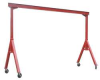 Portable Gantry Crane,2000Lb,Max Ht10Ft -- 7AJ23 - Image