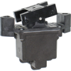 TP Series Rocker Switch, 4 pole, 2 position, IWTS (16-20 Gage) terminal, Above Panel Mounting -- 104TP82-3