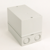 194L IP66 ABS Thermoplastic Enclosure -- 194L-G3575 -- View Larger Image