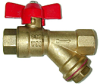 Ball Valve Y-Strainer Combo -- JBVY-500 - Image