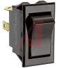 Switch,Rocker,Sealed,SPST,ON-NONE-OFF,SCREW TerminalS,BLACK Rocker -- 70131604 - Image