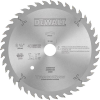 Precision ground woodworking blade for TrackSaw™ System - 40T -- DW5240