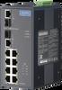 8-Port Industrial PoE Switch with 2 Gigabit Fiber/Copper Combo Ports -- EKI-7629CP-AE
