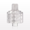 Male Luer Lock Connector, Clear -- 40065 -Image
