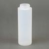 Ellsworth EA-1/2PT38 Polyethylene Squeeze Bottle Cylinder Wide Mouth Opaque 8 oz -- EA-1/2PT38 -Image