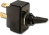 Carling 6GA5B-D-2B-B/HDW ASSM Black Nylon Toggle Switch, 15A, SPST, Momentary (On)-Off -- 44201 - Image